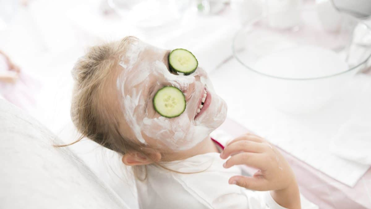 spa party for girls in London