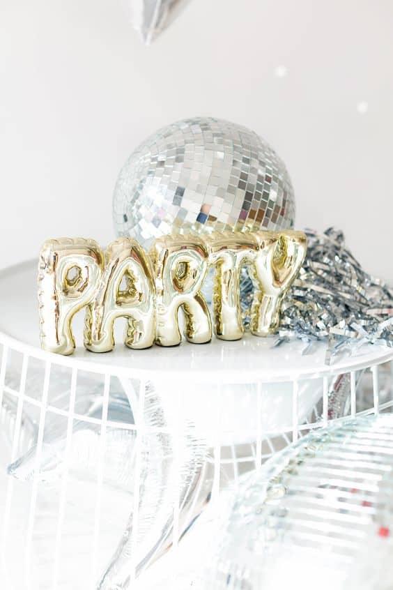 Disco Party Decor